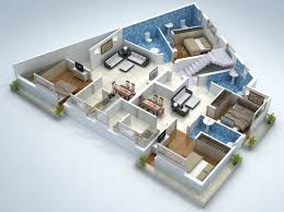 cut model of 2bhk floor plan interior design click this link to