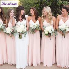 blush pink bridesmaid dresses 2015 new arrival cheap sweetheart back sleeveless pleated