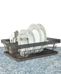 Dish Drainer Home Collections Bronze Steel Dish Rack Zulily
