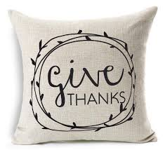 thanksgiving for friends misshow thanksgiving pillow covers 18x18 give thanks thanksgiving