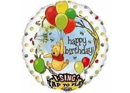 singing birthday delivery singing balloons helium balloons perth winnie the pooh happy