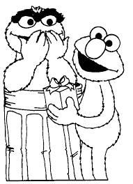 syster designs elmo coloring pages birthday