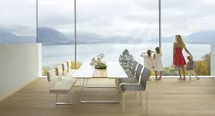 champagne modular dining table couture outdoor