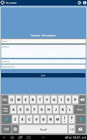 Free Resume Builder App For Android Free Resume Builder App For Android Amazoncom Free Resume Builder