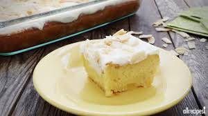 tres leches pina colada cake video allrecipes com