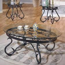 3 piece end table set steve silver company lola 3 piece coffee table set in dark brown