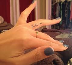 55 inner finger tattoos ideas