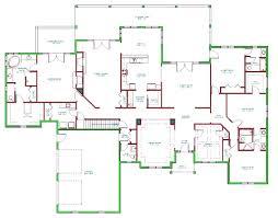 split ranch floor plans split bedroom floor plan vitrines