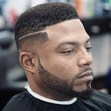 black people short hair cut with part down the middle fade haircuts for black men best types of fades for black guys
