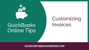 how to customize invoices in quickbooks online 2017 free