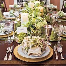 Kitchen Table Setting by South Shore Decorating Blog A New Kitchen Chandelier For Me And