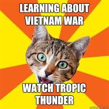 learning about vietnam war cat meme cat planet cat planet