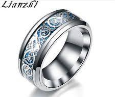 stainless steel rings for men men s stainless steel rings ebay