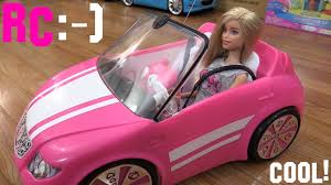convertible cars for girls toys for little girls barbie rc convertible car malibu avenue