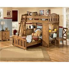 Ashley Furniture Bunk Beds With Desk B395 57p Ashley Furniture Twin Loft Bed With Desk And Storage