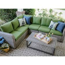Sofa Pillow Sets by Outdoor Sectionals Outdoor Lounge Furniture The Home Depot