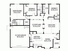 courtyard house plan eplans craftsman house plan unique plan features dramatic