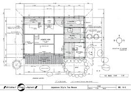 drawing building plans japanese tea house plans traditional house plan tea drawing