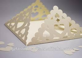cheap wedding invitation card factory price oem square