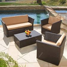 All Weather Wicker Patio Chairs Catchy Brown Wicker Patio Furniture Hampton Bay Spring Haven Brown