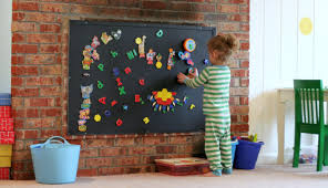Make Wall Decorations At Home by Playroom Design Diy Playroom With Rock Wall