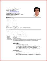 basic resume exles 2017 philippines resume sle philippines 2017 danaya us