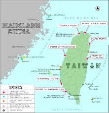 Map Of Taiwan Taiwan International Ports Corporation Ltd Geographical Location