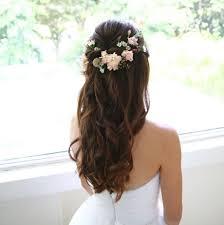bridal wedding hairstyle for long hair 55 beautiful wedding hairstyles ideas with bangs for long hair