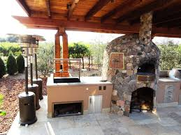 outdoor kitchen faucet how to design outdoor kitchen with pizza oven to make it more