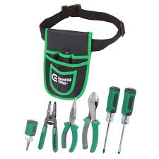 commercial electric 7 electrician s tool set with pouch