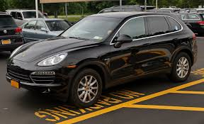 porsche cayenne blacked out file porsche cayenne diesel in black front left jpg wikimedia