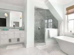 white carrara marble bathroom interiors design