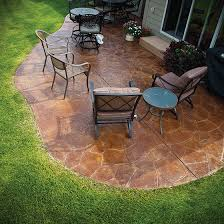 Patio Concrete Designs Omaha Concrete Contractor Floor Coatings Concrete Overlays