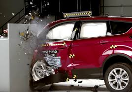 nissan armada crash test refreshed ford escape improves crash test performance still lags