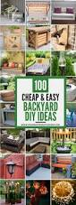 Patio Ideas For Backyard On A Budget by Best 25 Cheap Backyard Ideas Ideas On Pinterest Landscaping
