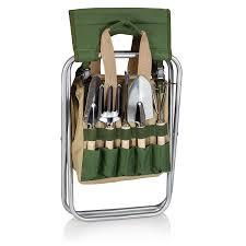 amazon com picnic time u0027gardener u0027 5 piece garden tool set with