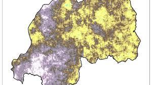 Rwanda Map Rwanda Energy Nasa Develop Summer 2013 Langley Research Center