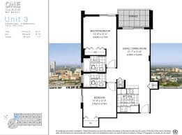 Skyline Brickell Floor Plans One Plaza West Brickell Condos For Sale Rent Floor Plans