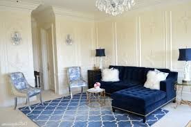 decorating with navy blue couch home design ideas
