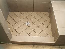 Bathroom Shower Floor Ideas Exellent Bathroom Shower Floor Tile Ideas A And Decorating