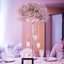 baby breath centerpieces baby s breath centerpieces