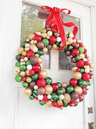 diy ornament wreath made out of a simple pool noodle clothing