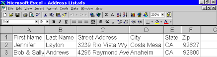 printing address labels on excel creating mailing labels envelopes with microsoft word excel