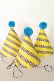 make your own party hat think crafts by createforless