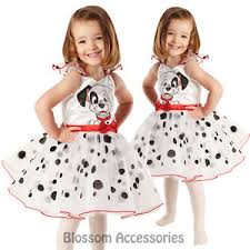 ck217 child 101 dalmation licensed ballerina fancy dress book