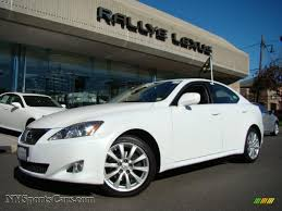 lexus white pearl 2008 lexus is 250 awd in starfire white pearl 021679