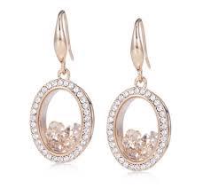 usher earrings frank usher floating earrings qvc uk