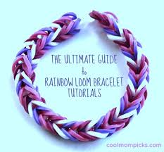 bracelet tutorials images How to make or buy the coolest rainbow loom bracelet patterns jpg