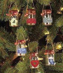 set of 6 mini jar ornaments ltd commodities