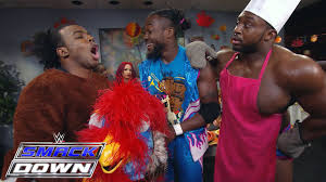 the annual new day thanksgiving potluck dinner smackdown